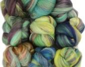 Dream Country -- mini batts (2 oz.) organic polwarth, merino wool, silk, bamboo, tencel.