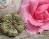 Handmade Ceramic Bead * ON SALE *