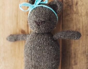 PRE ORDER Brambles Bear custom handknit prop