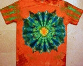 RESERVED FOR MONTE - Custom tie dye shirt
