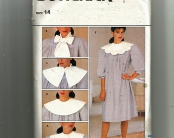 Butterick Misses' Dress and Detachable Collar Pattern 4740