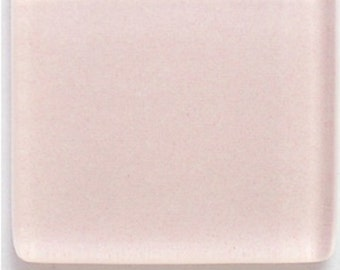 50 ct - 3/8 inch PINK ICE Crystal Glass Mosaic Tiles