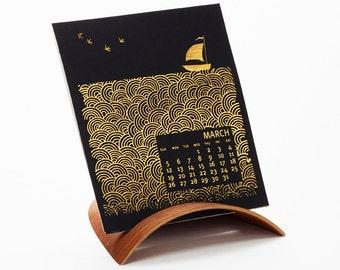 2017 Ilee Letterpress and Silkscreen Calendar