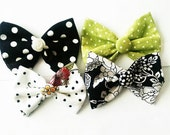 Dog hair bows to match your dress