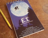 E.T. Journal Spiral Sketchbook Notepad Blank Paper Fun Classic 80s Movie