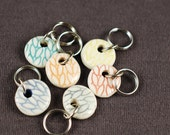 Teeny Tiny Circle Stitchmarkers Variety Grab Bag