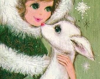 Christmas Kiss Cross Stitch Pattern PDF File
