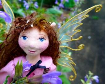 Miranda - An OOAK Cloth Fairy Art Doll