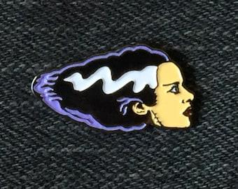 Bride of Frankenstein Lapel Pin