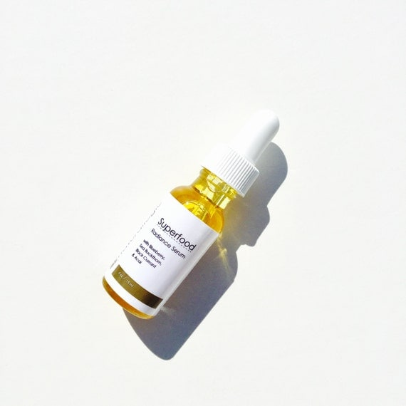 Superfood Radiance Serum. Antioxidant Berry Face Oil. Natural Organic Chemical Free Non Toxic Skin Care. Vegan.