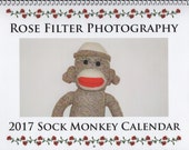2017 SOCK MONKEY calendar  (RESERVED for Cindy)