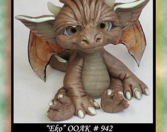 Art Doll Polymer Clay Fantasy Dragon Miniature Ado Ooak DollHouse Sculpture