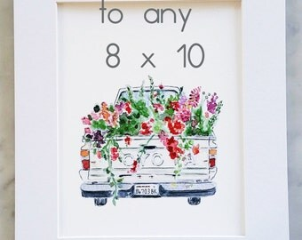 ADD A MAT to any 8 x 10 print