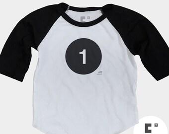 1st Birthday Shirt - Raglan