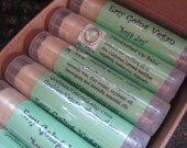 "12 ""Soya Joy"" (Easy Going Vegan) Lip Balms (comes w/display box) 0.15 oz tubes"