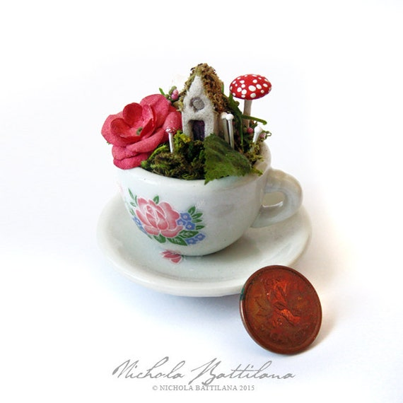 Tea Cup Fairy Garden Tutorial PDF Download from ...