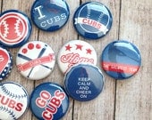 10 Chicago Cubs Buttons