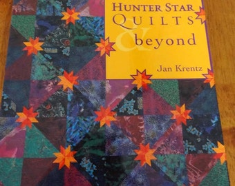 Quiltsy Destash Party - Hunter Star Quilts and Beyond Quilt Book