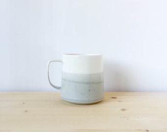 The Danish Mug in Grey + White Made to Order