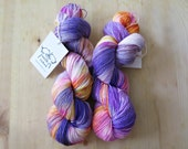 "Ganesh - Hand Dyed Sock Yarn - ""Twist Sock"" Limited Base - 462 yards"