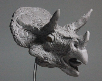 100 Heads Project - #22 Triceratops