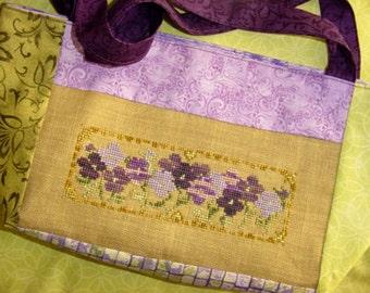 Purple Wildflower Patch