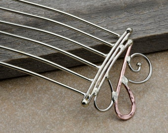 Hair fork or hair comb hair accessory
