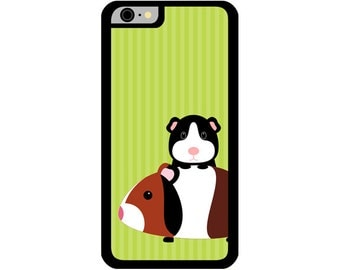 Phone Case - Guinea Pigs - Hard Case for iPhone 4, 4s, 5, 5s, 5c, 6, 6 Plus - iPod Touch 4, 5 - Galaxy S3, S4, S5