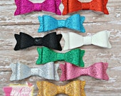 Glitter Bow Set - 3D Bow - Girls Bow - Toddler Bows