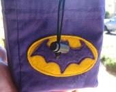 RESERVED Batgirl dice bag for Paul