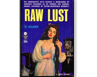 RAW LUST - Pulp Fridge Magnet