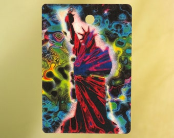 Psychedelic Statue of Liberty Air Freshener