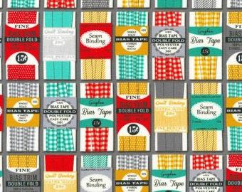 Gran's Sewing Basket - Grey Bias Tape And Binding Packages (AIK 16400-12) - 1 Yard - 9.95 Dollars