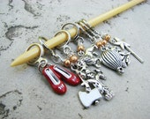 Wizard of Oz Non-Snag Stitch Markers