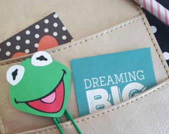 Fan art| Frog paperclip| Planner addicts| Planner accessories