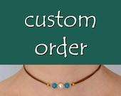 Custom order for Lila