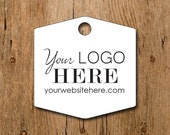 Custom Hexagon Shape Product Price Tags - Gift Tags - Hang Tags | #DS0113