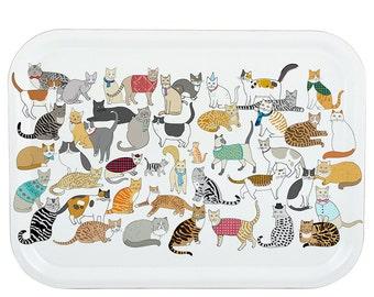 Crafty Cats Tray