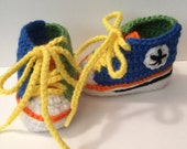 2 Tone Converse Sneakers - Any Colors - Newborn to 12 months