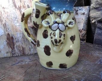 Giraffe   - Wake and Bake  Mug....  MUG and a PIPE.... AWESOME !!!  .......