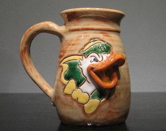 Duck  Mug  ..............                     e889