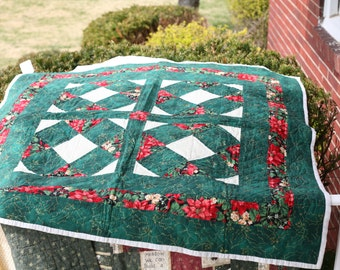 Hand Quilted: Baby Quilt, Lap Quilt, or Table Topper