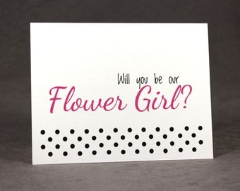 Ask Flower Girl Card/ Will You Be Our Flower Girl Card/ Flower Girl Proposal/ Be My Flower Girl/ Ask Wedding Party/ Ask Bridal Party