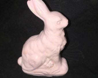 Vintage Ceramic-Chalk Easter Bunny