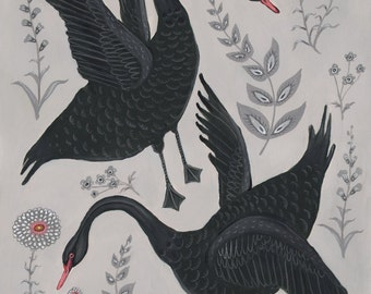Swans - Print