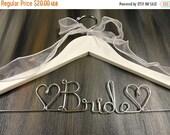 SALE 20% OFF Bride Wire Hangers Bridal Hangers Wedding Dress Hangers by OriginalBridalHanger