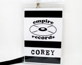 Empire Records Name Badge Prop