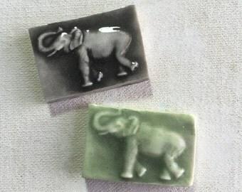 Mosaic Ceramic Tile Elephant