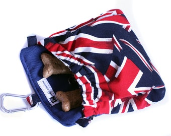 The Pocket 2.0 - Treat and Training Pouch - Union Jack