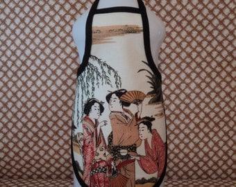 Geisha ...Bottle Apron